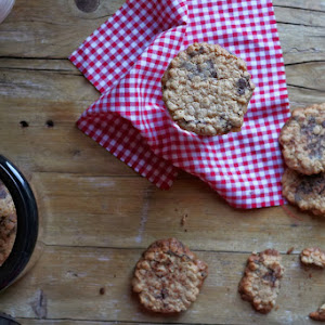Oats and Chocolate Wafers