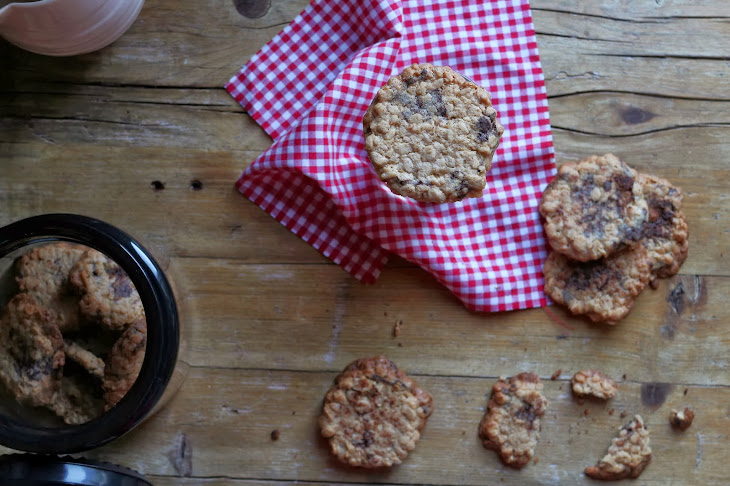 Oats and Chocolate Wafers Recipe
