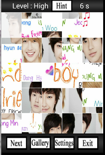 Boyfriend Wallpaper Puzzle
