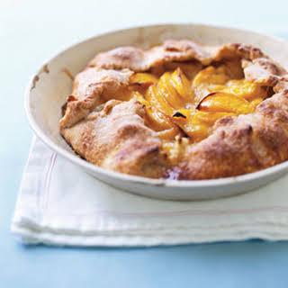 Rustic Peach Tart.