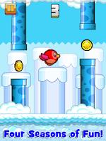 Screenshot of Happy Bird - Tiny Wings