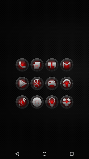 Black and Red - Icon Pack