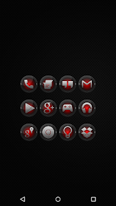 Black and Red - Icon Pack v2.5.7