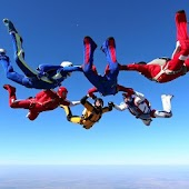 Skydiving Live Wallpaper