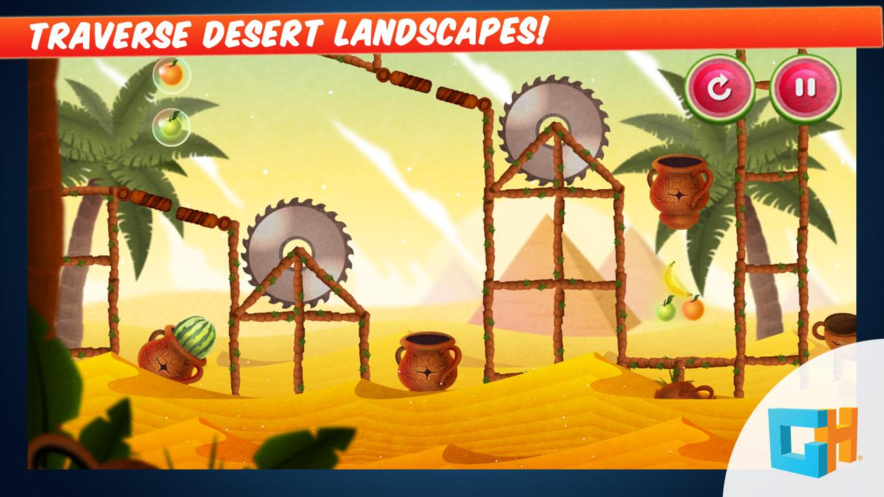 Bubble fruits game - Mortar Melon Fruit Shooter Screenshot