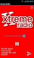 Screenshot of Xtreme Radio