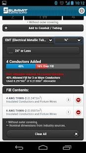 Conduit fill tracker android apps on google play conduit fill tracker screenshot thumbnail keyboard keysfo Choice Image