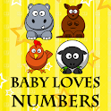 Baby Loves Numbers logo