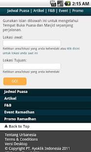 Urbanesia Ramadhan - screenshot thumbnail