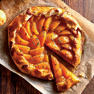 Apricot-Thyme Galette.