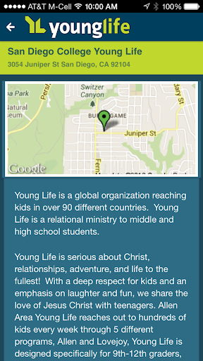 Young Life San Diego College
