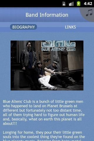 Blue Aliens' Club - screenshot