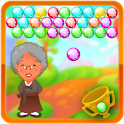 Angry Granny Bubble Shooter icon