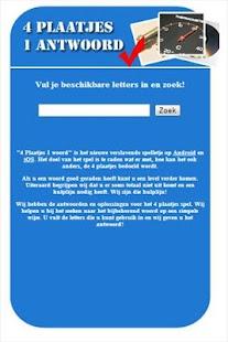 4 Plaatjes 1 Antwoord - Help - screenshot thumbnail