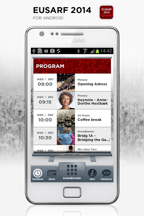 EUSARF 2014 - screenshot