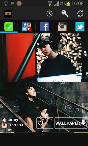 BTS 방탄소년단 SNS WALLPAPER KPOP