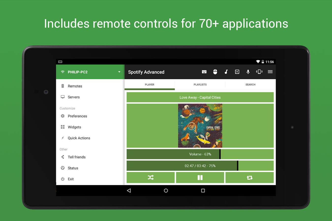 Unified Remote - screenshot