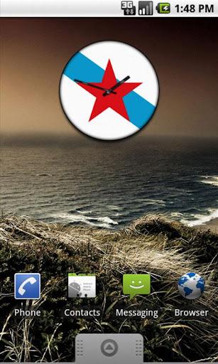 Galiza Clock Widget