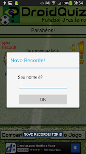 DroidQuiz - Futebol Brasileiro - screenshot thumbnail