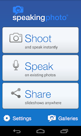 SpeakingPhoto Screenshot 1