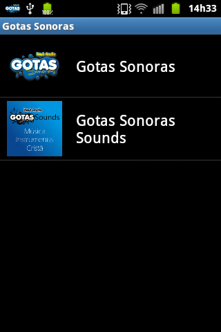 【免費音樂App】Rádio Gotas Sonoras-APP點子
