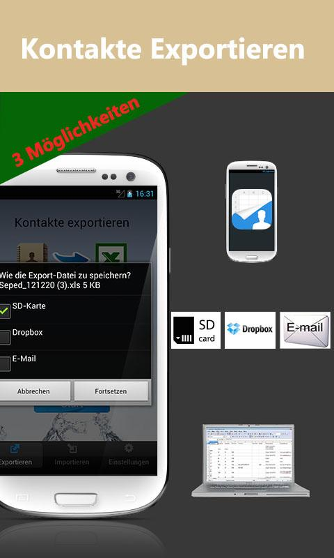 SA Kontakte – Screenshot