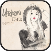 urban chic GO launcher theme