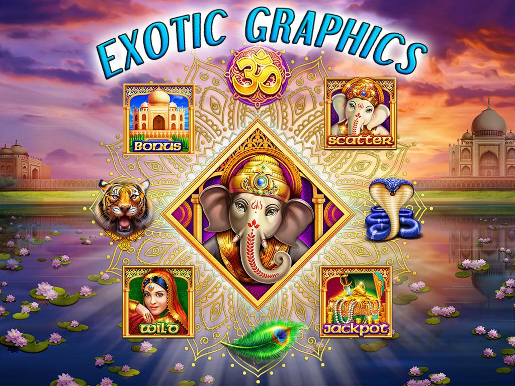 free videoslots riches of india