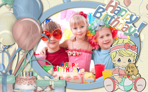 生日快樂相框