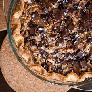 Salted Chocolate Pecan Pie.