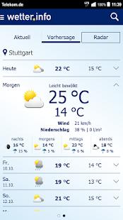 wetter.info - screenshot thumbnail