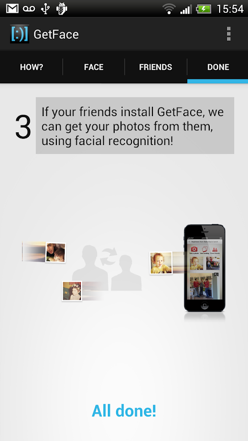 GetFace - screenshot