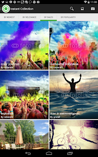Fotolia Instant - screenshot thumbnail