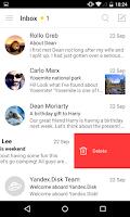 Screenshot of Yandex.Mail