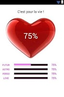 Screenshot of Love Calculator Pro