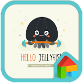 JellyFish dodol launcher theme