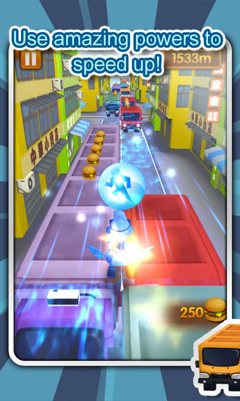 3D City Runner- screenshot