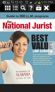 The National Jurist - screenshot thumbnail