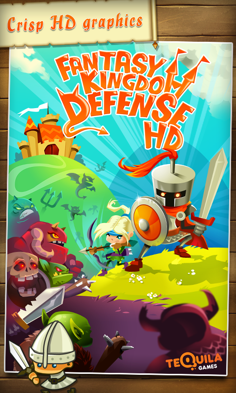 Fantasy Kingdom Defense HD - screenshot