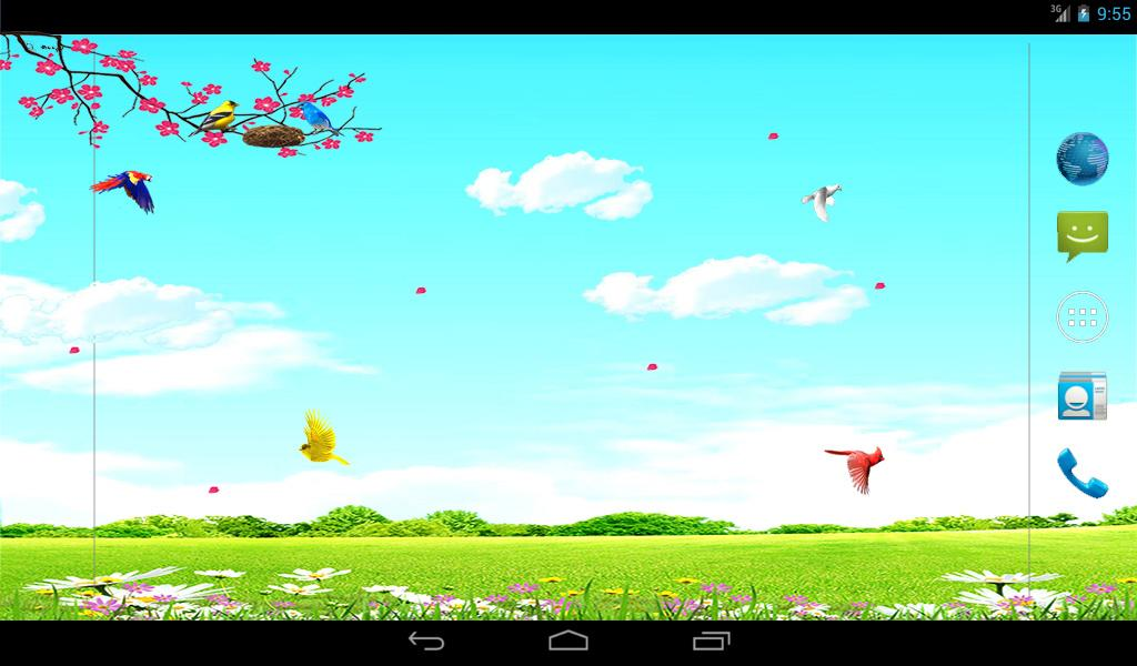 Sky Birds Live Wallpaper Free- screenshot