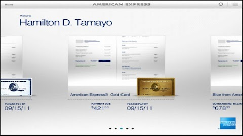 Amex for Tablet Screenshot 4