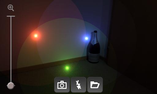 RGB Lights Camera Effect