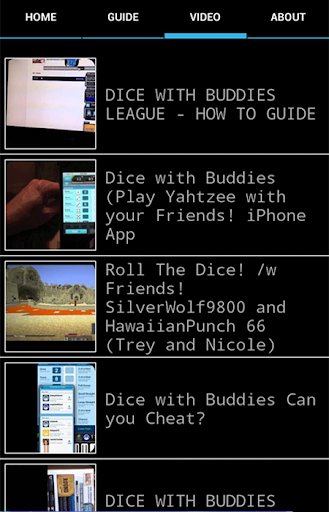 Dice With Buddies Guide 2014