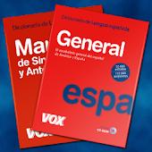 VOX  General Spanish +Thesauru