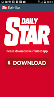 Screenshot of Daily Star Updater