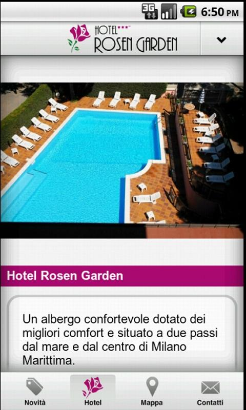 Hotel Rosengarden - screenshot