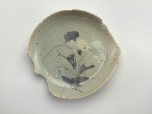 Small dish, nearly whole