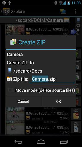 متصفح الملفات الشهير x-plore في احدث اصداراته 1.58
