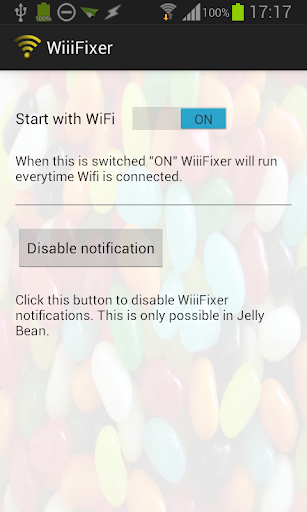 WiiiFixer for Jelly Bean