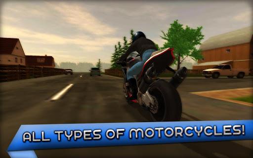 Motorcycle Driving 3D 1.4.0 screenshots 4